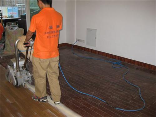 紫檀木地板翻新
