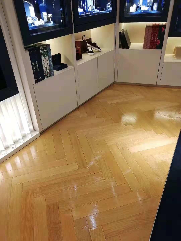 Apm商铺地板木蜡油效果赏析